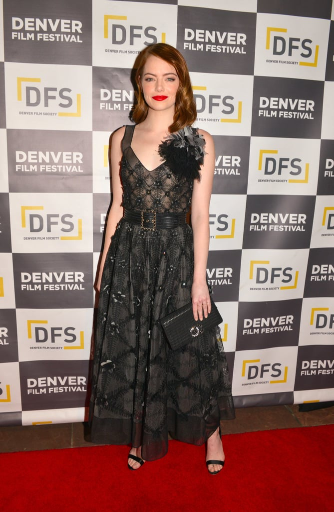 Emma Stone S Red Carpet Style Popsugar Fashion