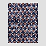 Floral Stamp Outdoor Rug