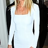 Gwyneth Paltrow was the cohost of the Obama Victory Fund dinner held at Mark's Club in London.