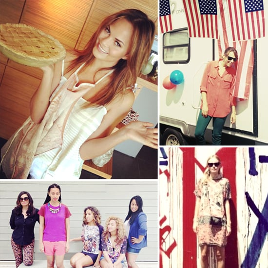 Pictures of Celebrities and Models on Twitter July 5, 2012
