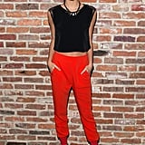 Sara Sampaio at Modelinia's pre-Fashion Week dinner in New York.