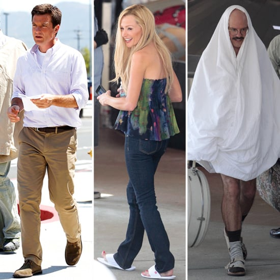 First Pictures From the Arrested Development Set!