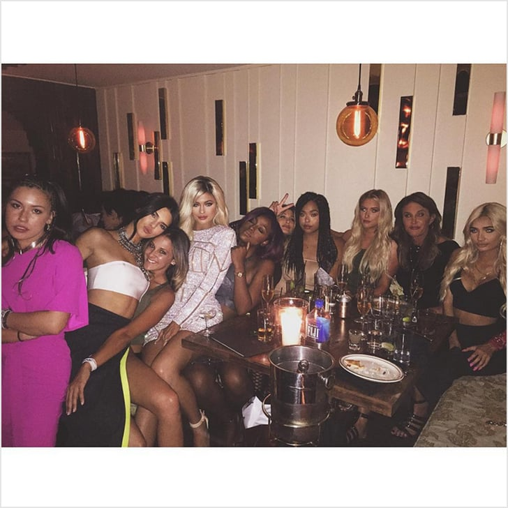 kylie jenners 18th birthday pictures popsugar fashion
