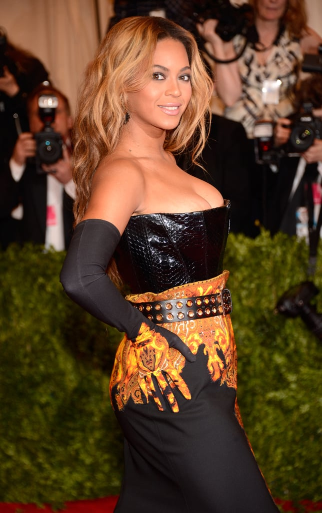 A closer look at Beyoncé's statement-making ensemble.