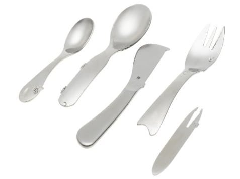 WMF Children's Animals 5-Piece Flatware Set