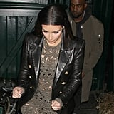 Kim Kardashian and Kanye West's Dinner With Anna Wintour