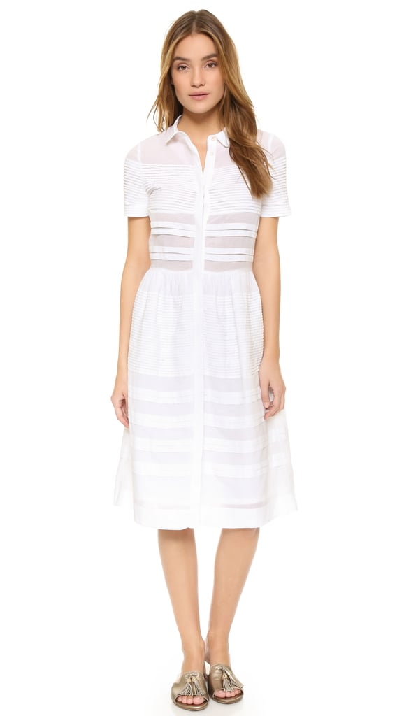 Chinti and Parker Pintuck Shirtdress ($275)