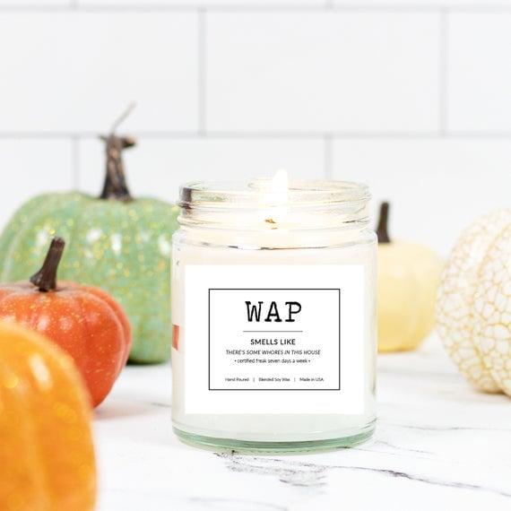 """""""WAP"""" Candle"""