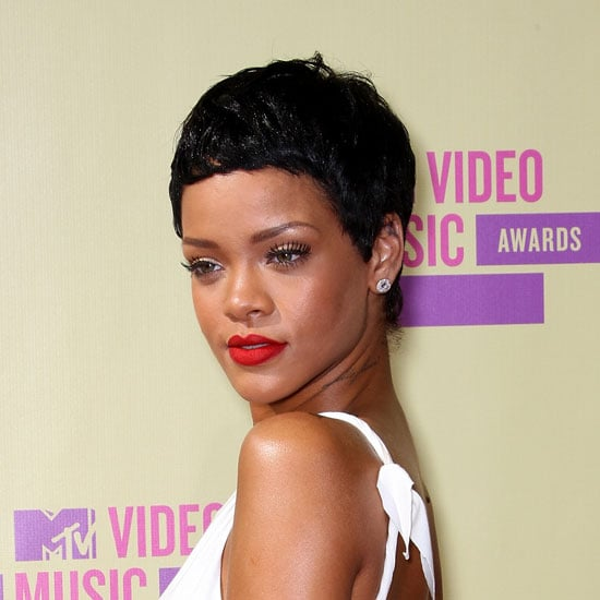 Rihanna Debuts Her Short, Pixie Hair Cut at the 2012 MTV Video Music Awards