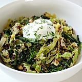 Lemony Toasted Quinoa and Cabbage Salad