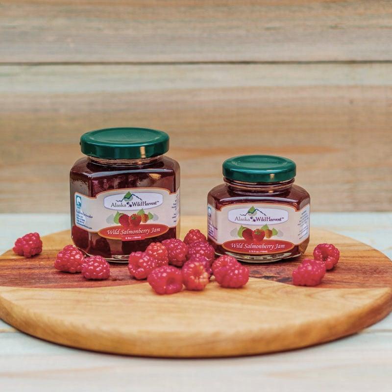 Wild Salmonberry Jam From Alaska Wild Harvest