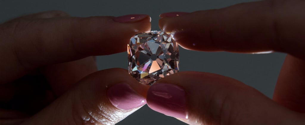 French Crown Jewel Pink Diamond Up For Auction at Christie's