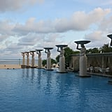 The pools at The Mulia were made for Instagrams! Don't miss them at sunset!