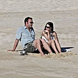 Vince Vaughn With New Girl in Cabo