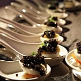 Quail Egg and Caviar