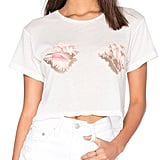Wildfox Couture Realistic Shell Bra Tee