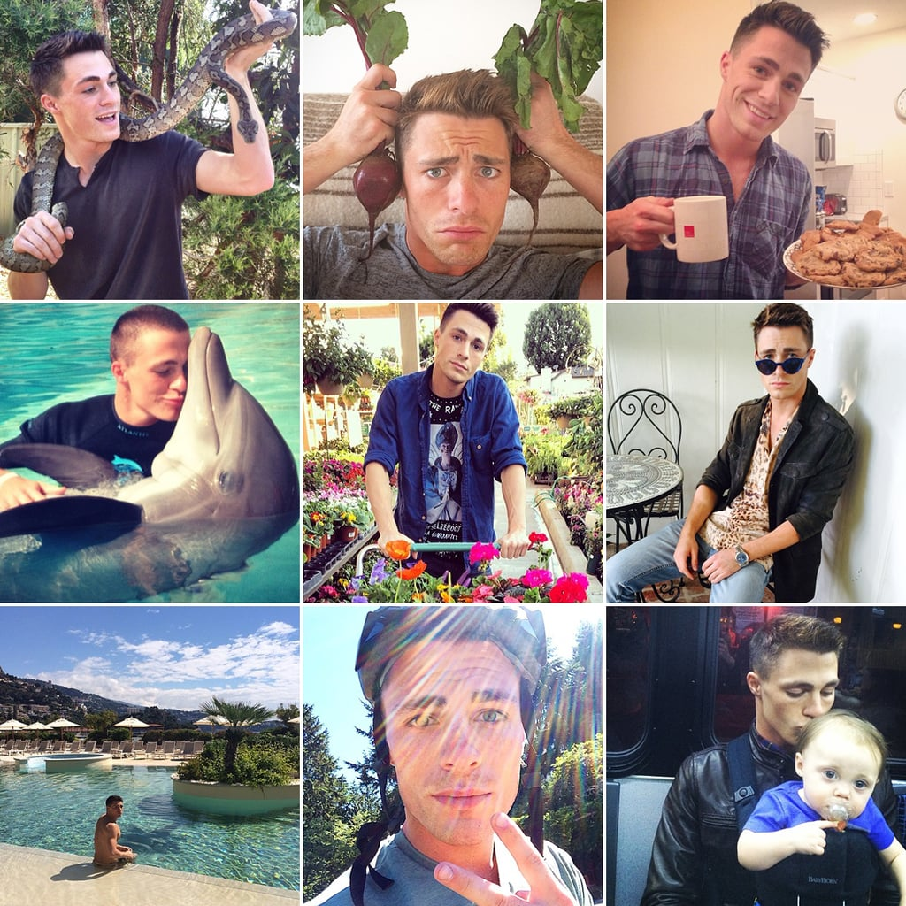 Colton Haynes's Funny Instagram Pictures