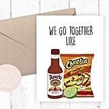 We Go Together Like Card ($5)