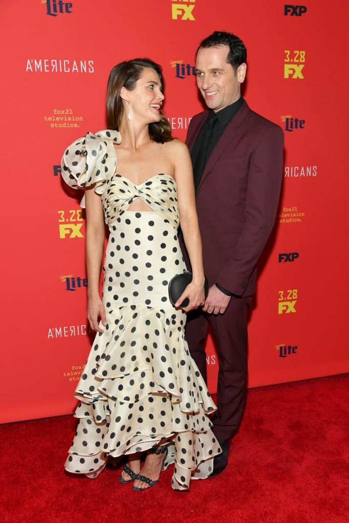 Keri Russell and Matthew Rhys at The Americans Premiere 2018