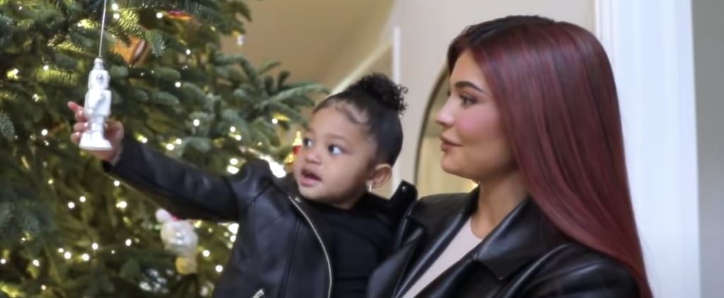 Kylie Jenner's Christmas Decorations House Tour | Video