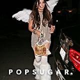 Vanessa Hudgens Dressed Up as an Angel in 2013