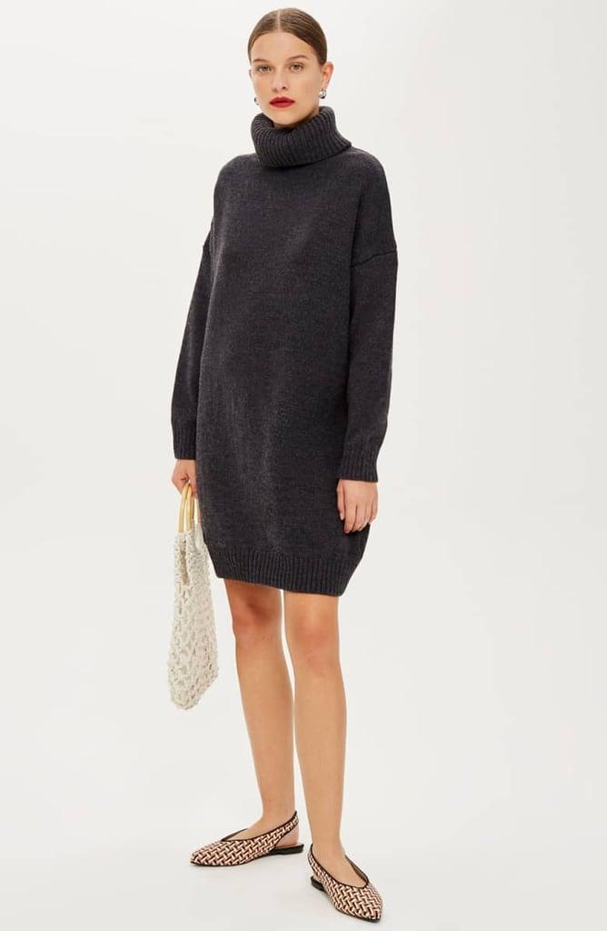 603cce6b383 Topshop Turtleneck Sweater Dress