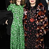 Sofia Coppola and Anna Sui at Marc Jacobs Fall 2019