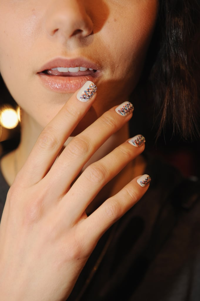 Do have a pro perform a caviar design with gel or acrylic for a longer-lasting manicure.