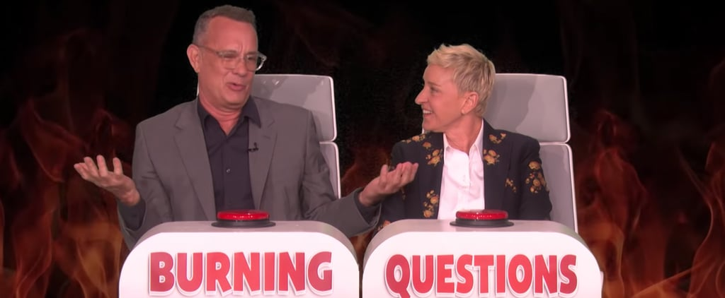 "Tom Hanks ""Burning Questions"" on The Ellen Show Video"