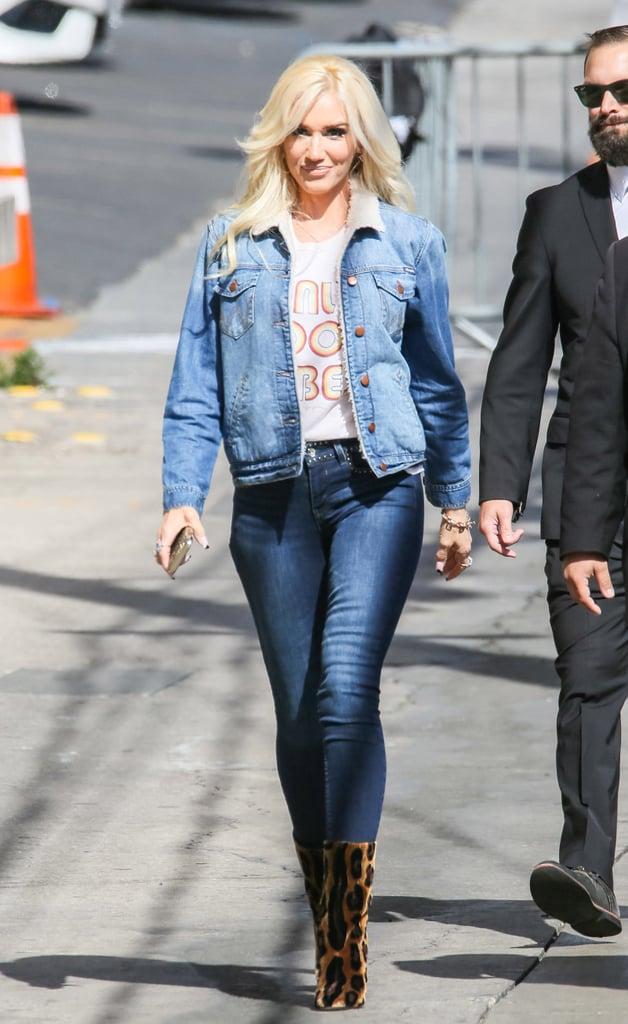Gwen Stefani Leopard Boots