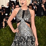 Taylor Swift Beauty Look Met Gala 2016