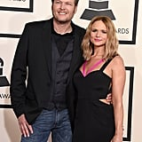 """March 2015: Blake showed up at Miranda's concert in Wichita, KS, surprising fans and stealing a kiss from his wife on stage. The two performed a stripped-down version of """"God Gave Me You.""""  July 2015: The couple officially called it quits and broke off their marriage once and for all. Their divorce came 10 years after meeting and four years after getting married. """"This is not the future we envisioned,"""" they wrote in a joint statement at the time. """"And it is with heavy hearts that we move forward separately. We are real people, with real lives, with real families, friends, and colleagues. Therefore, we kindly ask for privacy and compassion concerning this very personal matter."""""""