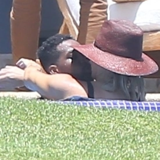 Khloé Kardashian and Kendall Jenner in Mexico August 2018