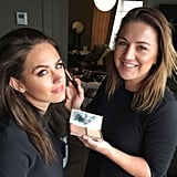 """Straight after to the show I head back down to Soho to look after the beautiful Jesinta Campbell. We test run some of the gorgeous new Tom Ford Spring Colour Collection and my go-to Charlotte Tilbury Filmstar Bronze & Glow ($97)."""