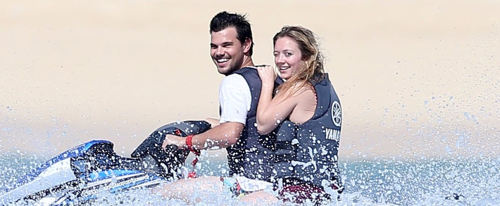 Billie Lourd Escapes to Cabo With Taylor Lautner After the Deaths of Carrie Fisher and Debbie Reynolds