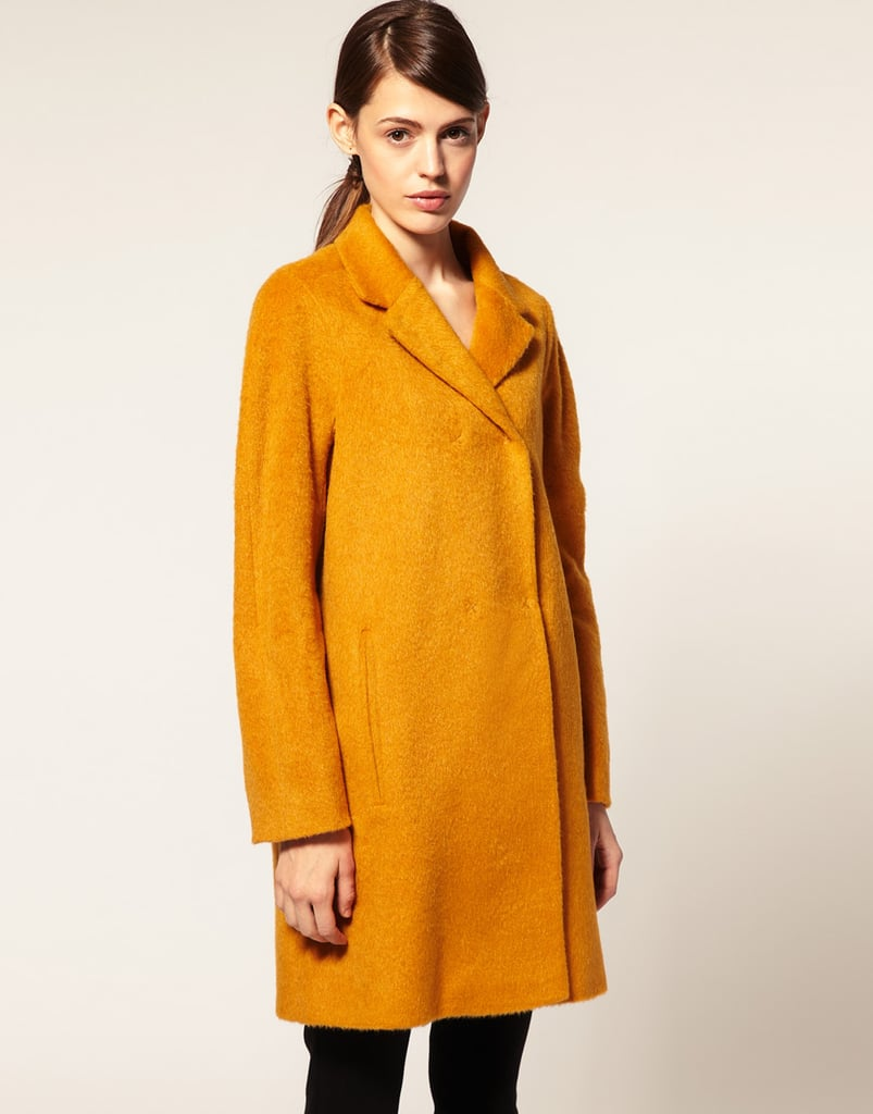 We love the attention-getting mustard hue of this ASOS Formal Coat ($60, originally $172).