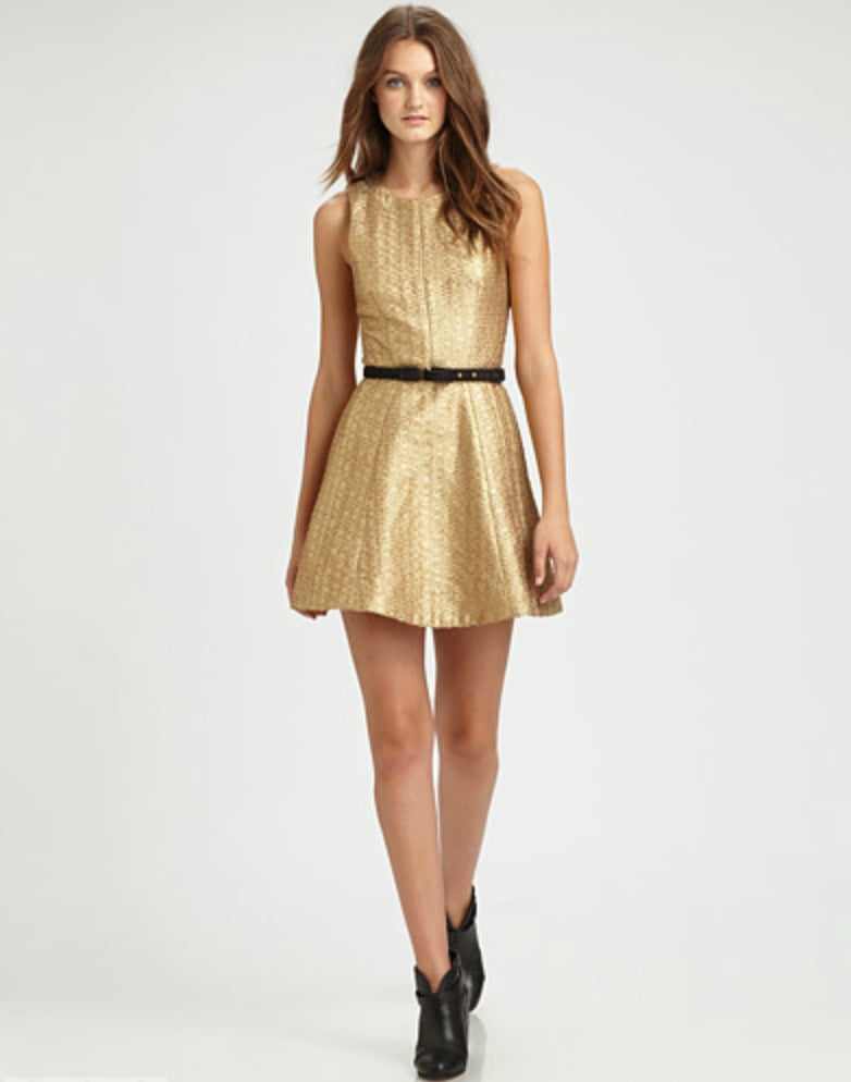 This sweet Rag & Bone Renard Metallic Dress ($995) is ideal for formal Thanksgiving dinners, cocktail parties, and even New Year's Eve.