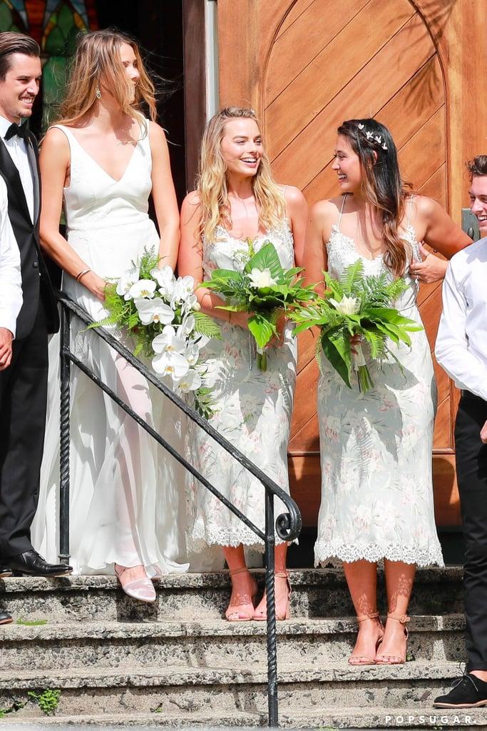 Margot Robbie Wedding.Margot Robbie Being Bridesmaid At Friend S Wedding May 2017