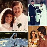 1960-1999: Vintage Wedding Photos Somewhere between 1960 and 2000, weddings went from modest, afternoon gatherings to glitzy parties into the night. Like prom for adults! After exploring each decade, we thought it would be fun to visualize the evolution all at once. See how the colors, clothes, and styles change in these photos of brides and grooms in the 20th century's final 40 years.