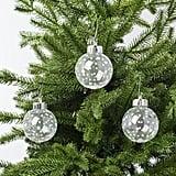 Vinterfest Clear Dotted Ornaments