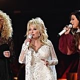 Dolly Parton and Little Big Town's Kimberly Schlapman and Karen Fairchild