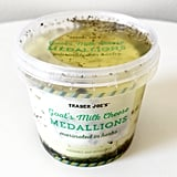 Pick Up: Goat's Milk Cheese Medallions Marinated in Herbs ($5)