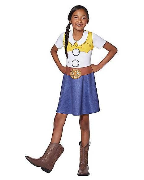 Jessie Dress Costume From Toy Story