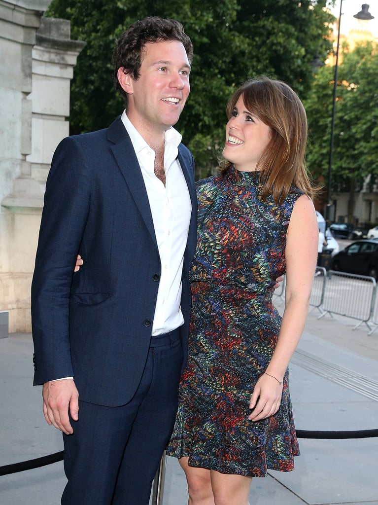 It's pretty obvious that Princess Eugenie and Jack Brooksbank are head over heels in love. The couple are set to tie the knot in October, but they've already shared a handful of adorable moments together. In fact, in the seven years that they've been dating, they've already established a cute couple pose. During their official appearances together, Eugenie has been caught staring lovingly at her longtime boyfriend. It actually looks pretty similar to Prince William and Kate Middleton's signature pose. See all the times Eugenie gave Jack heart eyes ahead.       Related:                                                                                                           You Only Have to Take One Look at Princess Eugenie and Jack Brooksbank to Feel the Love