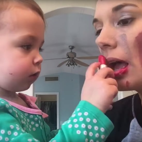 Baby Makeup Tutorial Funny Video