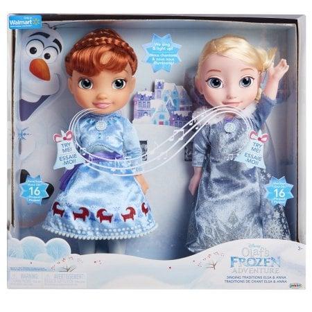 Disney Frozen Olaf's Frozen Adventure Singing Traditions Elsa & Anna