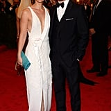 Claire Danes and Hugh Dancy posed together on the red carpet.