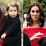 Princess Charlotte Looking Like Kate Middleton Pictures