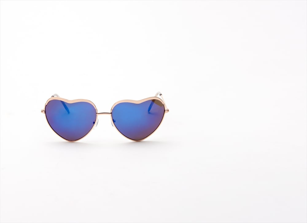 Show your love for your friends with heart-shaped sunglasses ($8).