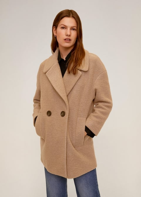 Structured Wool Coat ($104.97, originally $149.95)